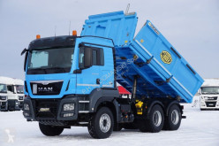 Camión volquete MAN TGS / 26.480 / E 6 / 6 X 4 / HYDROBURTA