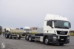 MAN TGX / 26.470 / ACC / E 6 / ZESTAW TANDEM BDF + remorque châssis truck used chassis