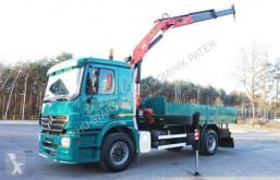 Ciężarówka platforma Mercedes ACTROS 1832 PALFINGER PK 15500 KRAN TOP !! CRAN