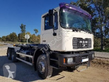 MAN 33.414 DFA truck used hook arm system