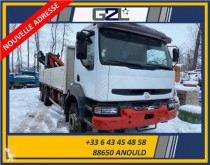 Camion Renault Kerax 340 plateau ridelles occasion