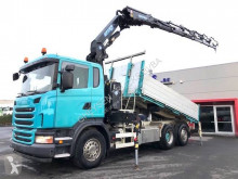 Scania three-way side tipper truck G 480