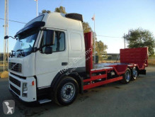 Volvo heavy equipment transport truck