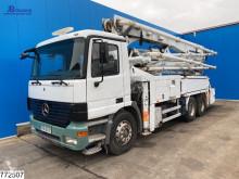 Mercedes Actros 2635 truck used concrete mixer + pump truck concrete