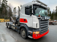 Camion porte containers Hiab Scania R440 LB 6x2 441cv multilift 17T Hook Truck