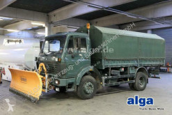 Kamión valník s bočnicami a plachtou Mercedes 1017 A 4x4, Allrad, Anbauplatte, AHK, 74.000km