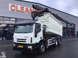 Camion ribaltabile Ginaf C 3128 N HIab 21 ton/meter laadkraan