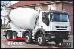 Camión hormigón cuba / Mezclador Iveco Trakker 410 8x4, 187.242 Kilometer
