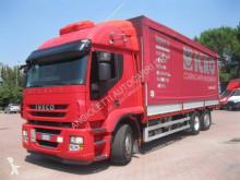 Kamión valník s bočnicami a plachtou Iveco Stralis 260 S 48
