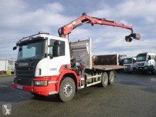 Scania two-way side tipper truck P 400