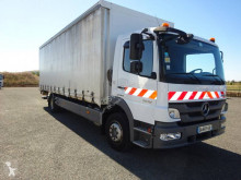 Camion Mercedes Atego 1218 N rideaux coulissants (plsc) occasion