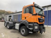 MAN chassis truck TGS 28.400 6x4-4 BL Eur 6 Winterd. Wechselfahrg.