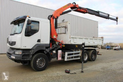 Renault two-way side tipper truck Kerax 370.26 DXI