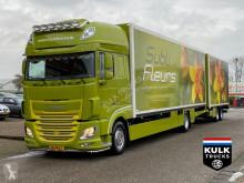 DAF mono temperature refrigerated trailer truck XF