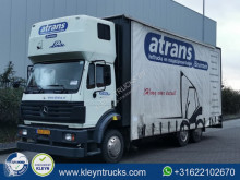 Teherautó Mercedes 2534 eps nl-truck használt függönyponyvaroló