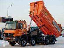 Vrachtwagen Mercedes ACTROS 4144 / 8X6 / MEILLER KIPPER / HYDROFLAP / tweedehands kipper