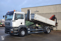 MAN TGA 18.350 truck used flatbed