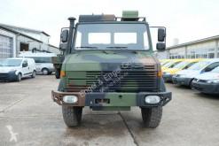 Unimog platóoldalak plató teherautó U 1300 L 435 4X4 2t KLIMA *-OLDTIMER-* AHK