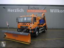 MAN skip truck LE LE 18.280 4x4 BB, Schmidt Salzstreuer & Schild