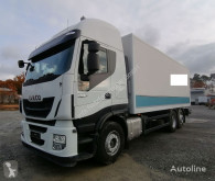 Camion furgon Iveco Stralis Stralis 460E6 6x2 LBW Lenkachse Klima Stahlboden Durchlader