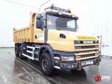 Vrachtwagen kipper Scania Torpedo