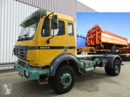 Mercedes SK 1824 AK 4x4 1824 AK 4x4 Sitzhzg./Tempomat truck used three-way side tipper