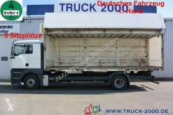 Camión MAN TGA 18.350 LL Koffer 1.Hd 5 Sitze Klima Schalter furgón usado