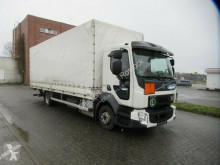 Volvo ponyvával felszerelt plató teherautó FL FL 210, Euro 6, Handschalter, Klima, 7,30 m