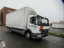 Camion cu prelata si obloane Mercedes 1222 Pritsche&Plane,LBW, EEV, Klima,Handschalter