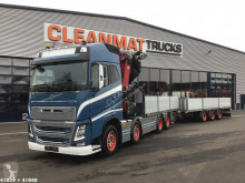 Volvo flatbed trailer truck FH16