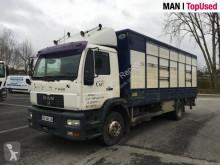 Camion van per trasporto di cavalli MAN 14.225 LLC