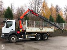 Renault Kerax 380.26 6x4 benne Grue Euro 5 truck used tipper