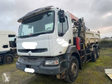 Renault three-way side tipper truck Kerax 370 DCI