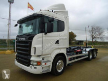 Scania hook arm system truck