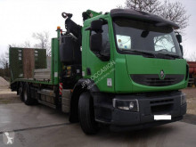 Renault truck used heavy equipment transport
