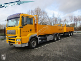 MAN flatbed trailer truck TGA 26.360