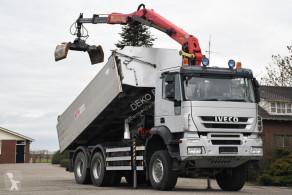 Camión volquete volquete trilateral Iveco Trakker 450