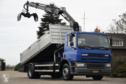 DAF CF65 truck used tipper