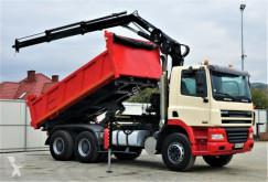 Kamion DAF CF 85.340 *Kipper 4,80 + Kran/FUNK*Topzustand! korba použitý