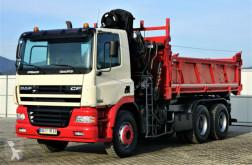 Camion benne DAF CF 85.340 *Kipper 4,80 + Kran/FUNK*Topzustand!
