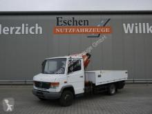 Mercedes 612 D Pritsche, Tirre Kran Euro 35, 3 Sitze, AHK LKW gebrauchter Pritsche Bracken/Spriegel