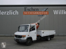 Camion Mercedes 612 D Pritsche, Tirre Kran Euro 35, 3 Sitze, AHK plateau ridelles occasion