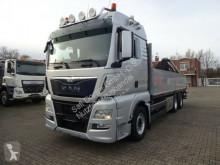 MAN 26.440 TGX Pritsche mit Atlas Kran 6x2 truck used