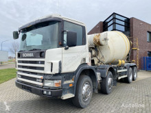 Scania 114.340 8x4 / 8.000 L Liebherr Mixer / Full Steel truck used concrete mixer