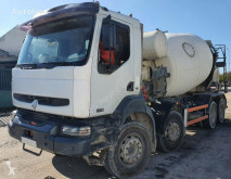Renault 370 STTETER 10M3 truck used concrete mixer