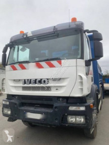 Iveco three-way side tipper truck Trakker 350
