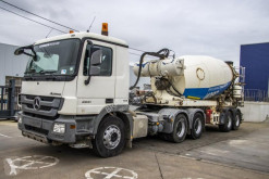 Mercedes Actros tractor-trailer used concrete mixer concrete