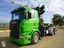 Scania R 420 truck used flatbed