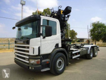 Lastbil platta Scania