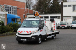 Iveco telescopic articulated platform commercial vehicle Daily Iveco Daily 35-130 Hubarbeitsbühne
